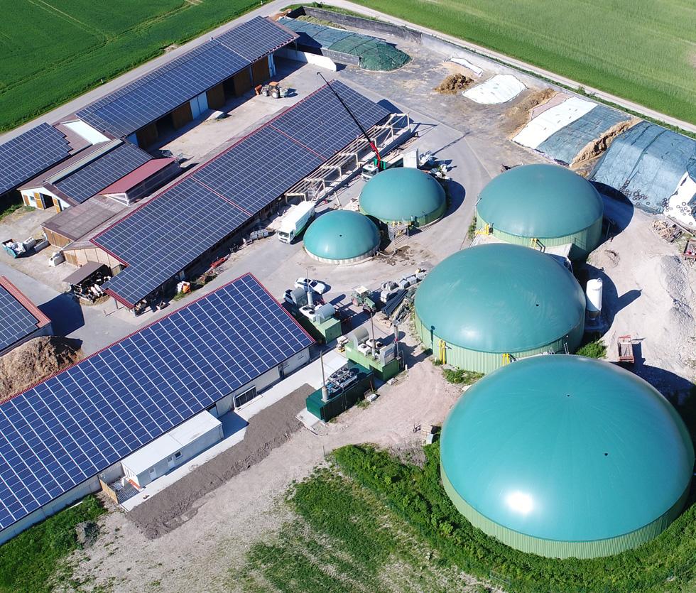 Biogas-Großanlage Armin Nürnberger, Möckenau