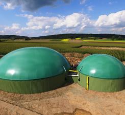 Biogasanlage Hans Merk, Oberheßbach