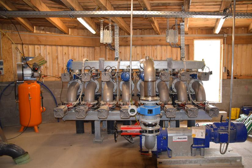 Pumpentechnik Biogasanlage