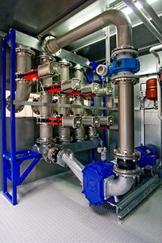 Pumpentechnik Biogasanlage BGVN