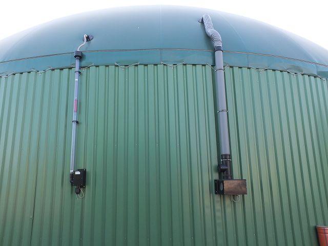 Tragluftdach Biogasanlage