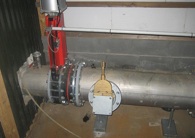Überlauf Biogasanlage BGVN