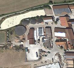 Musterbild 75 kW Biogasanlage