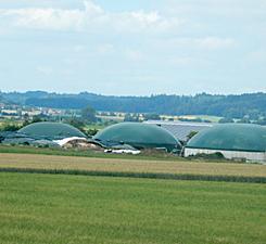 Biogasanlage Klaus Hahn, Dornhausen
