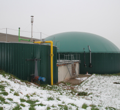 Biogasanlage Helmut Göß, Lehrberg